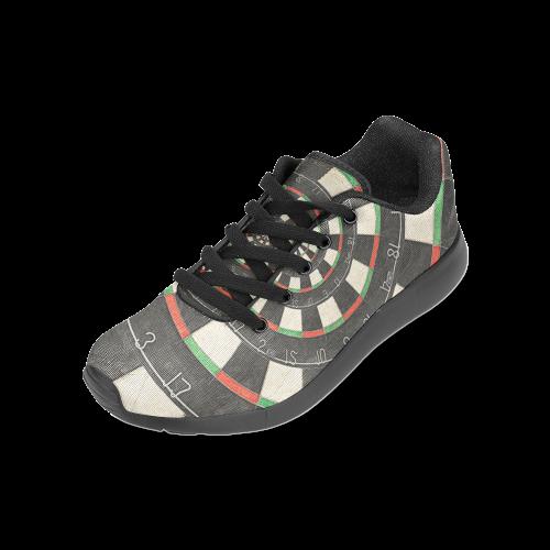 Spiral Dart Board Droste Effect Women's Running Shoes (Model 020)