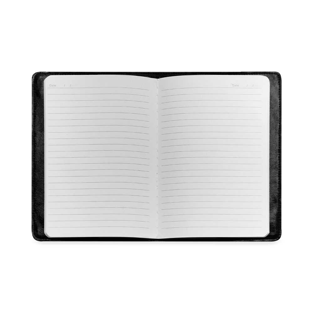 Colorful 3D Geometric Blocks Custom NoteBook A5