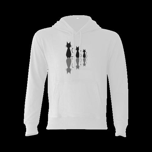 Cats Gildan Hoodie Sweatshirt (Model H03)