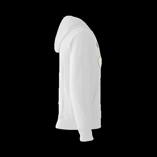 Baa Baa White Sheep Gildan Hoodie Sweatshirt (Model H03)
