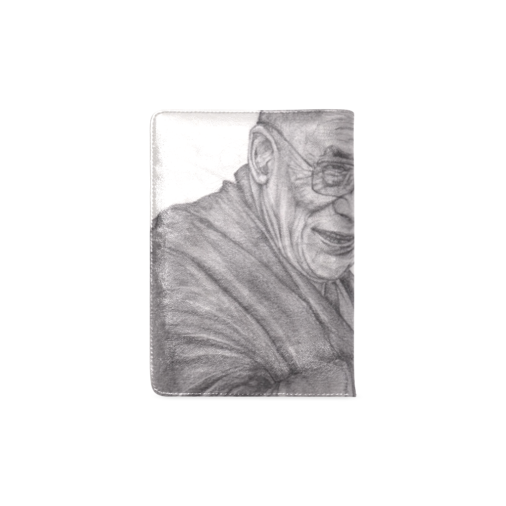 Dalai Lama Tenzin Gaytso Drawing Custom NoteBook A5