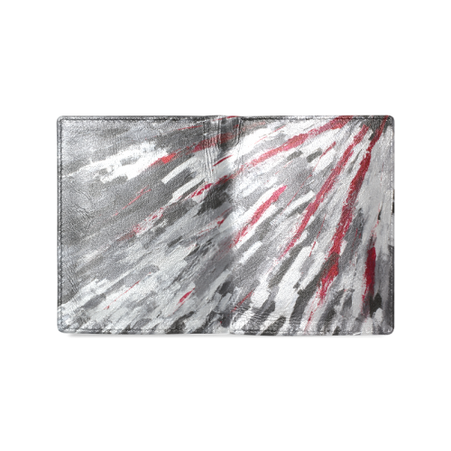 Hyperspace Men's Leather Wallet (Model 1612)