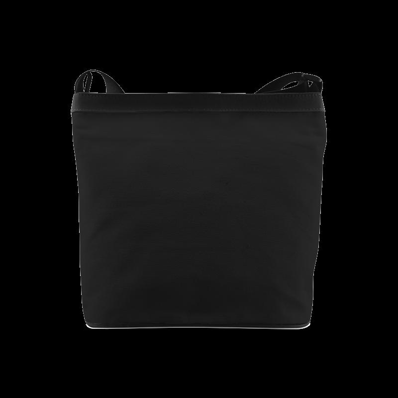 green geometric pattern Crossbody Bags (Model 1613)