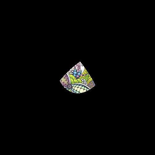 Bright fantasy flower in bright colors Custom Bikini Swimsuit