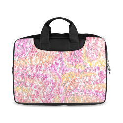 """pink yellow white feather pattern Macbook Air 11""""(Twin sides)"""