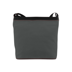 Pirate Black Color Accent Crossbody Bags (Model 1613)