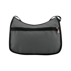 Pirate Black Color Accent Crossbody Bags (Model 1616)