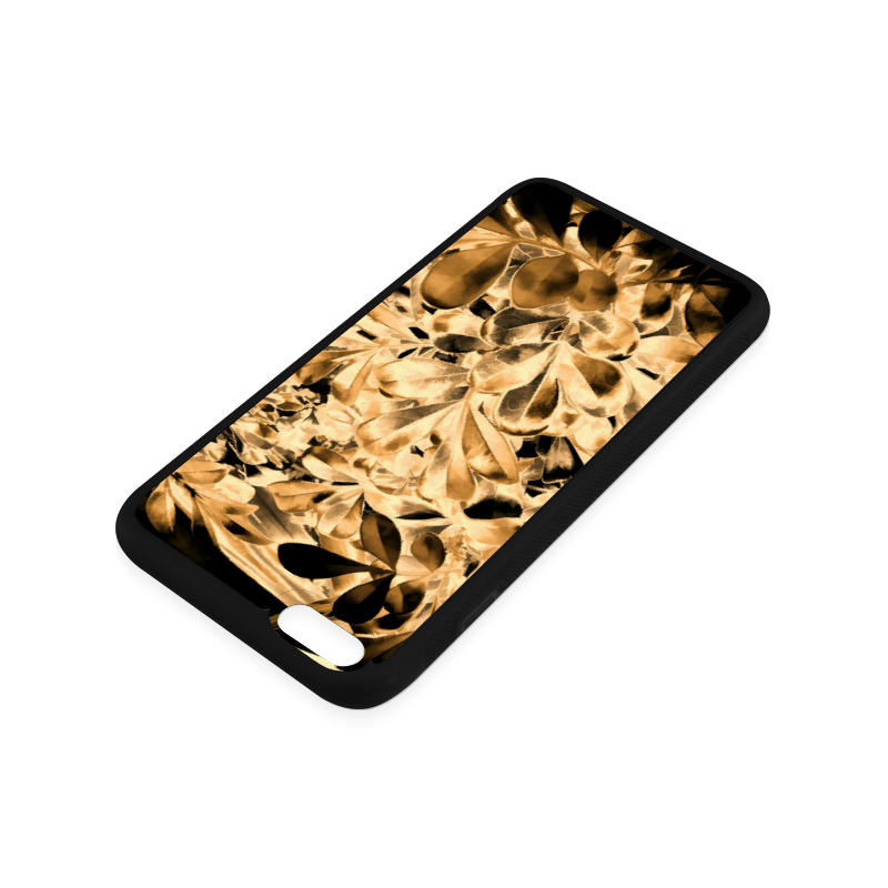 Foliage #2 Gold - Jera Nour Rubber Case for iPhone 6/6s Plus