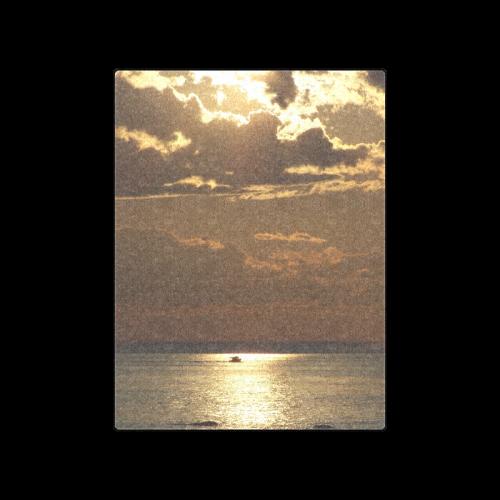 """Awesome Sea Scene Blanket 50""""x60"""""""