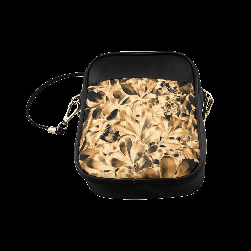 Foliage #2 Gold - Jera Nour Sling Bag (Model 1627)