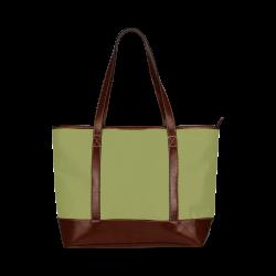 Woodbine Color Accent Tote Handbag (Model 1642)