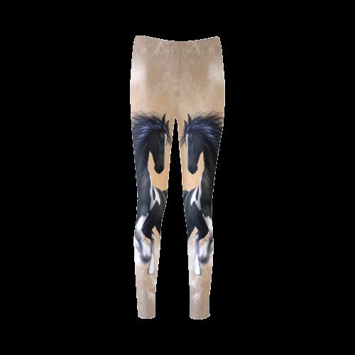 Wonderful horse Cassandra Women's Leggings (Model L01)