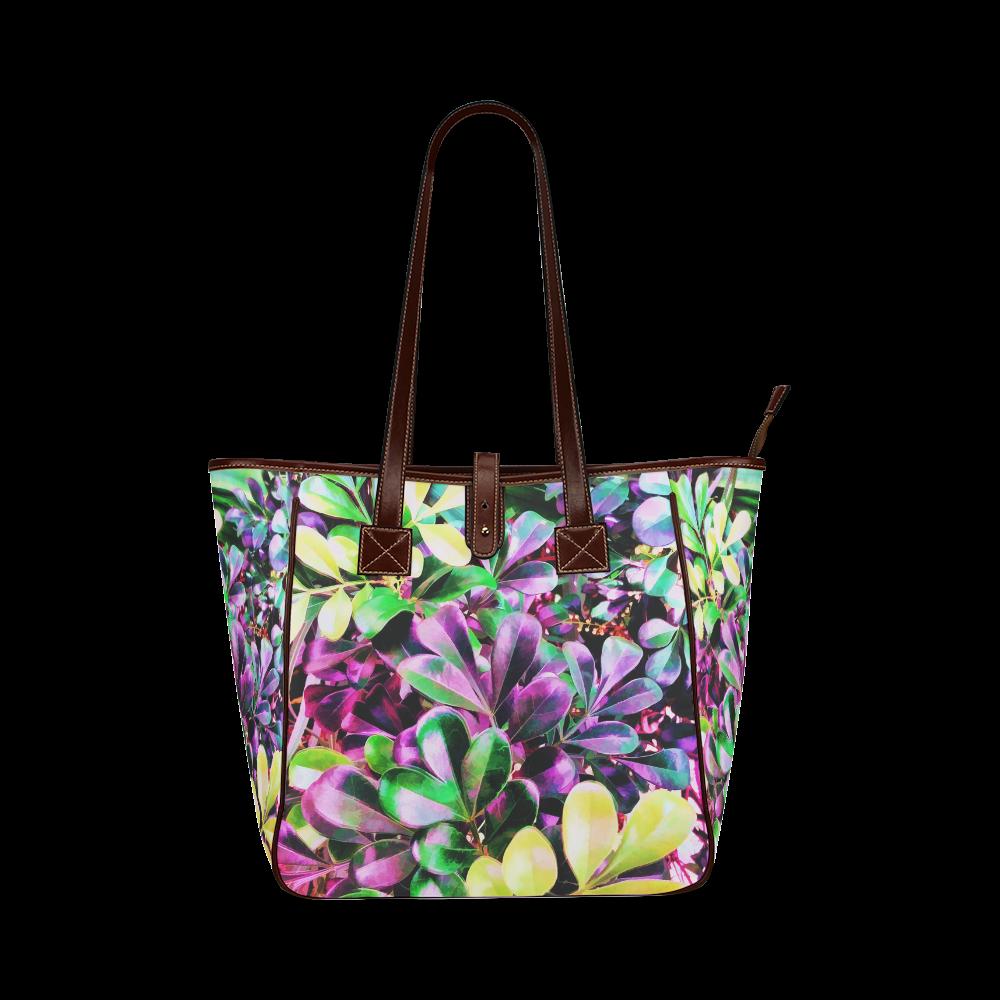 Foliage-3 Classic Tote Bag (Model 1644)