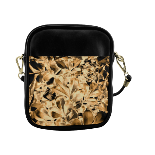 Foliage #2 Gold - Jera Nour Sling Bag (Model 1627)