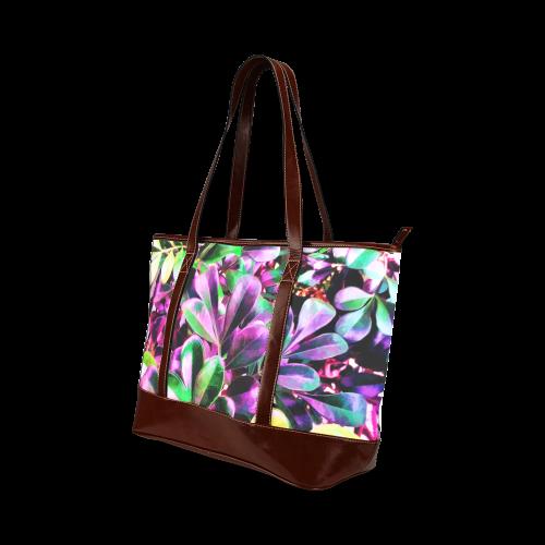 Foliage-3 Tote Handbag (Model 1642)