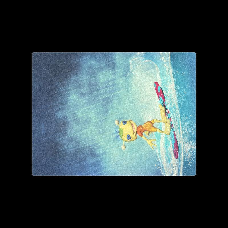 "Surfing Alien Blanket 50""x60"""