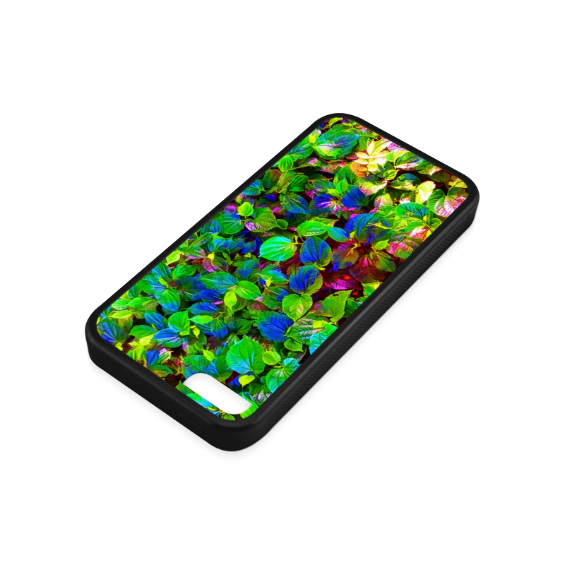 Foliage-7 Rubber Case for iPhone 5c