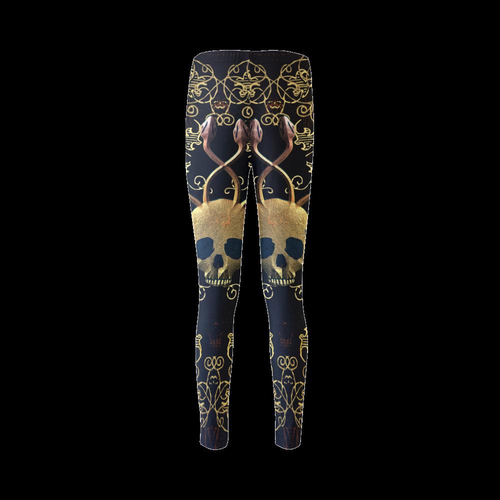 Amazing skull Cassandra Women's Leggings (Model L01)