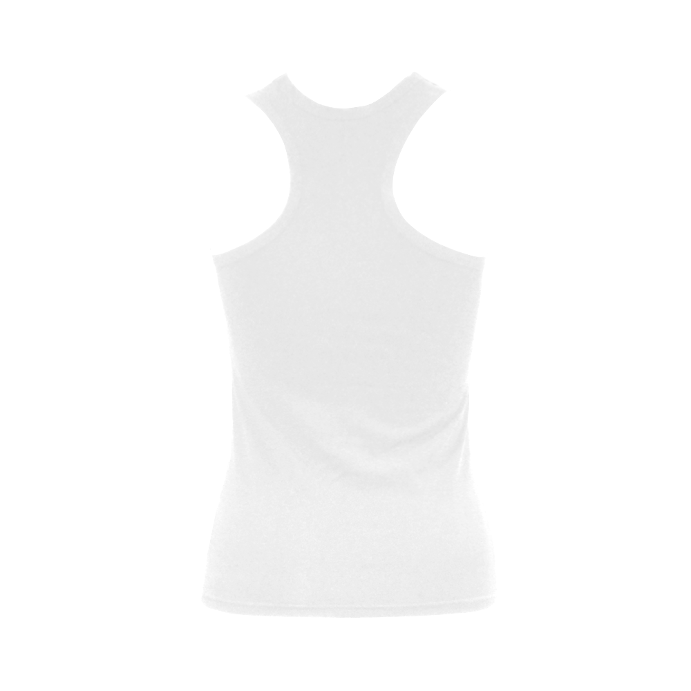 Travel-painted Tenerife Women's Shoulder-Free Tank Top (Model T35)