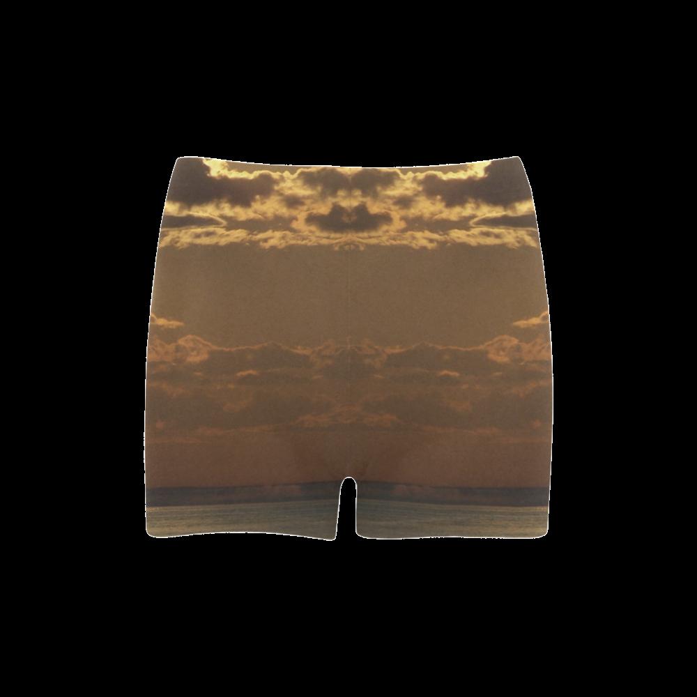 Awesome Sea Scene Briseis Skinny Shorts (Model L04)