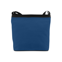 Cool Black Color Accent Crossbody Bags (Model 1613)