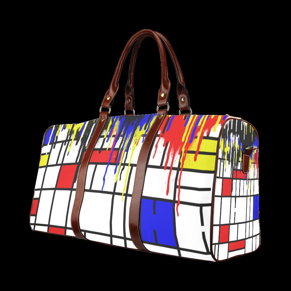 MONDRIANN Waterproof Travel Bag/Small (Model 1639)