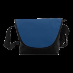 Cool Black Color Accent Crossbody Bag (Model 1631)