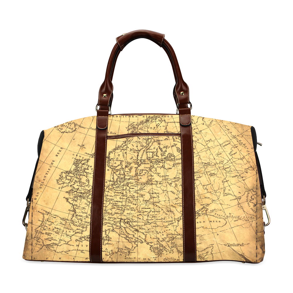 World Map Classic Travel Bag (Model 1643)