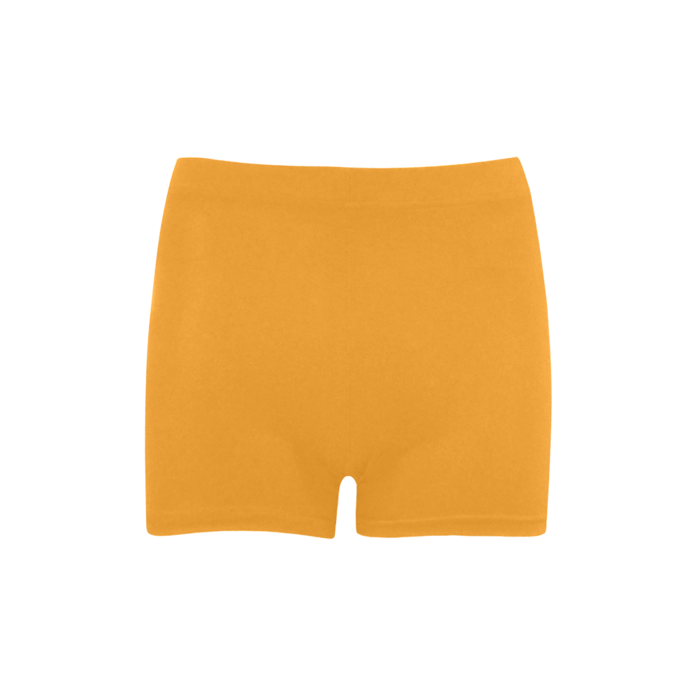 Radiant Yellow Color Accent Briseis Skinny Shorts (Model L04)