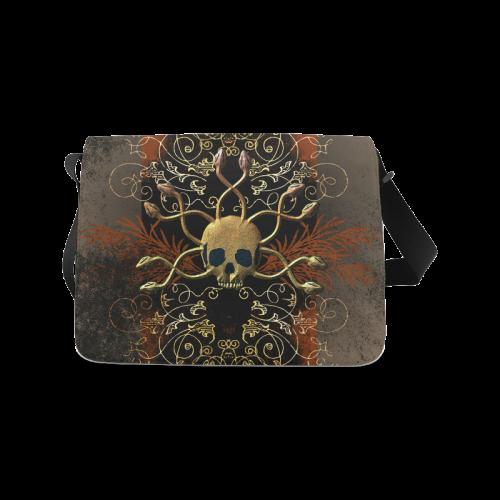 Amazing skull Messenger Bag (Model 1628)