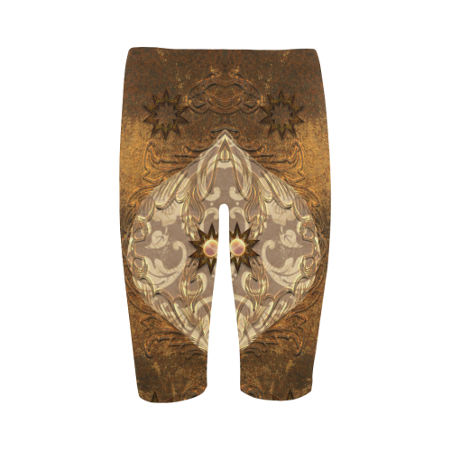 Vintage design Hestia Cropped Leggings (Model L03)