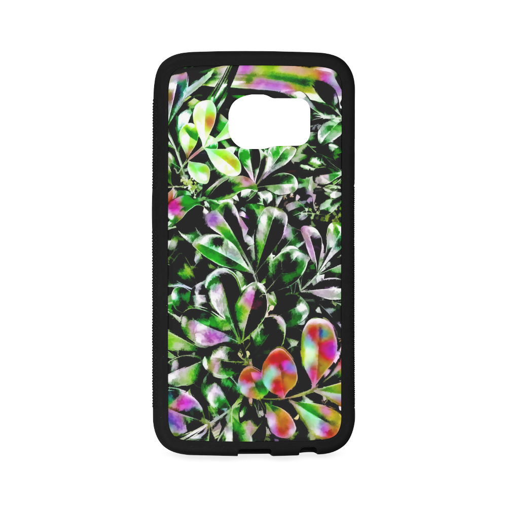 Foliage-6 Rubber Case for Samsung Galaxy S6 Edge