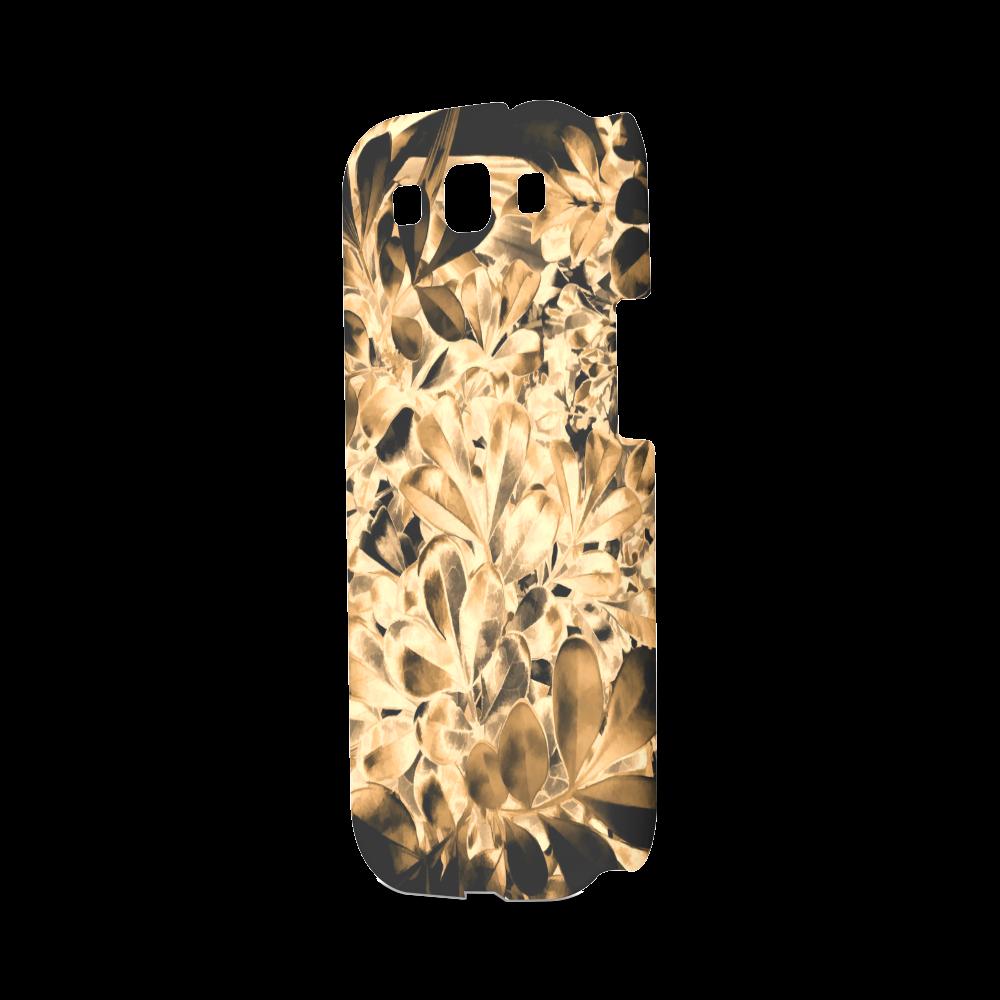 Foliage #2 Gold - Jera Nour Hard Case for Samsung Galaxy S3
