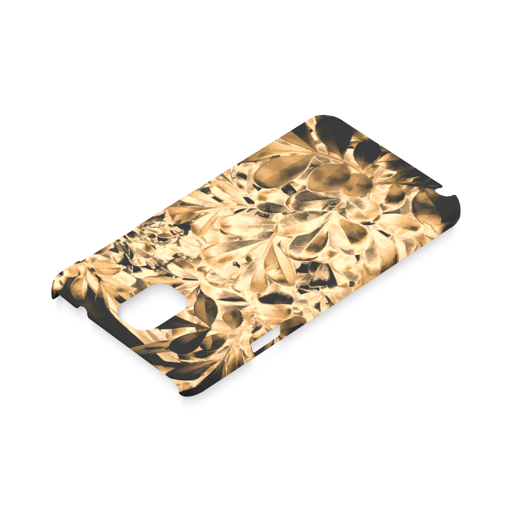 Foliage #2 Gold - Jera Nour Hard Case for Samsung Galaxy Note 3