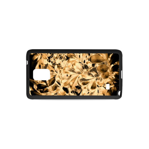 Foliage #2 Gold - Jera Nour Rubber Case for Samsung Galaxy Note 4