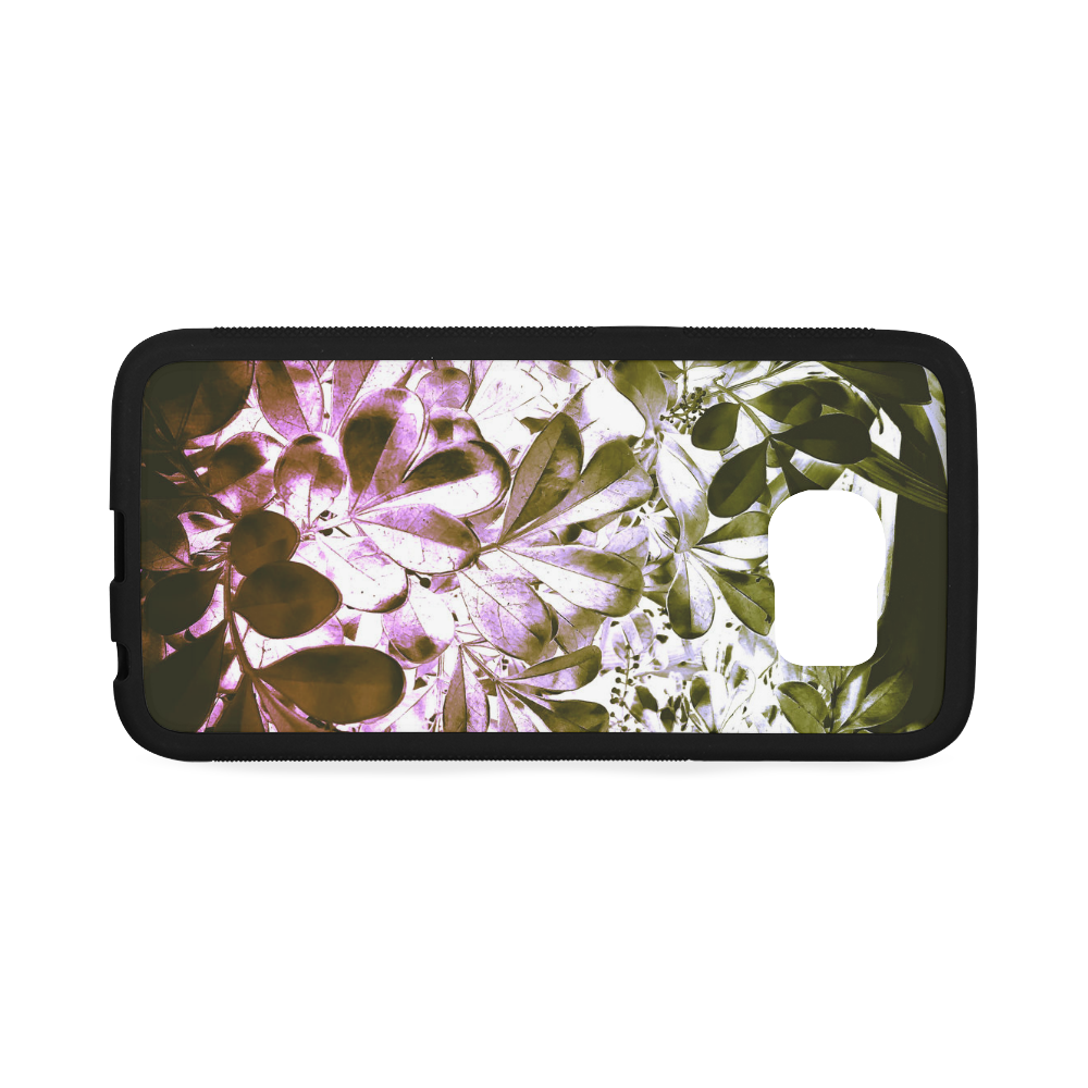 Foliage-4 Rubber Case for Samsung Galaxy S6 Edge