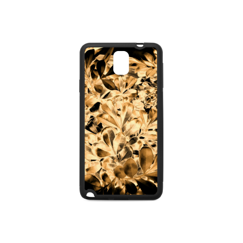 Foliage #2 Gold - Jera Nour Rubber Case for Samsung Galaxy Note 3