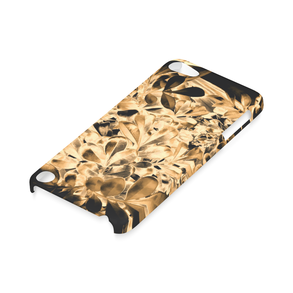 Foliage #2 Gold - Jera Nour Hard Case for iPod Touch 5