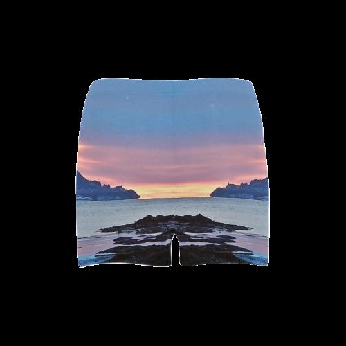 Sunrise in Tourelle Briseis Skinny Shorts (Model L04)