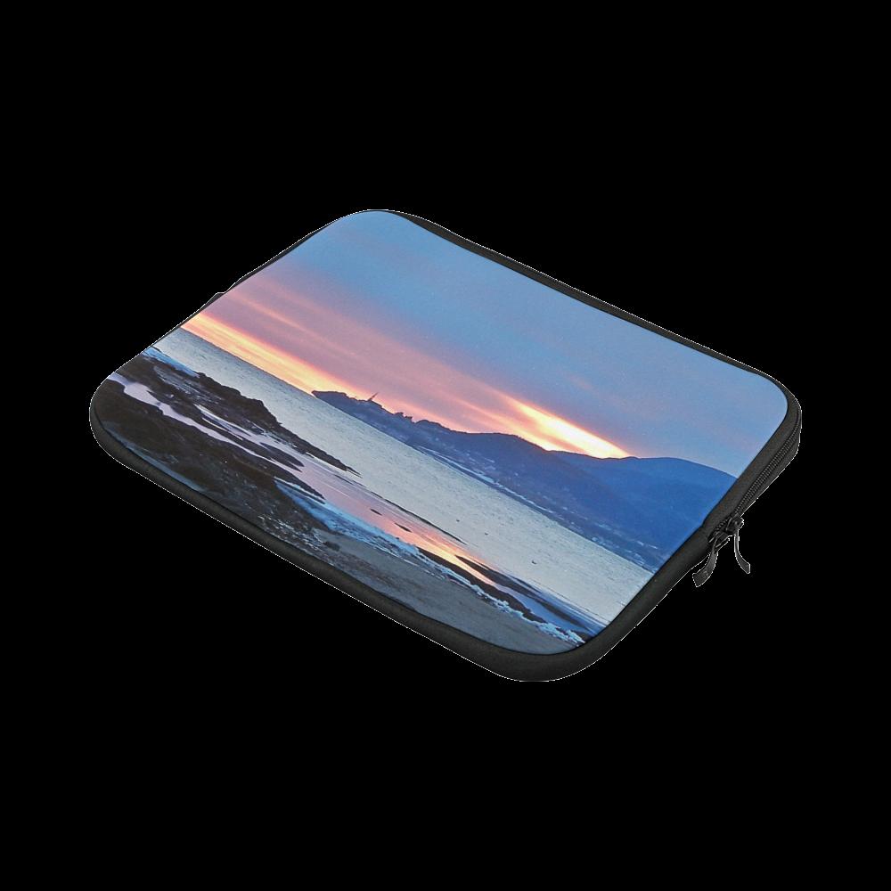 """Sunrise in Tourelle Custom Laptop Sleeve 13"""""""