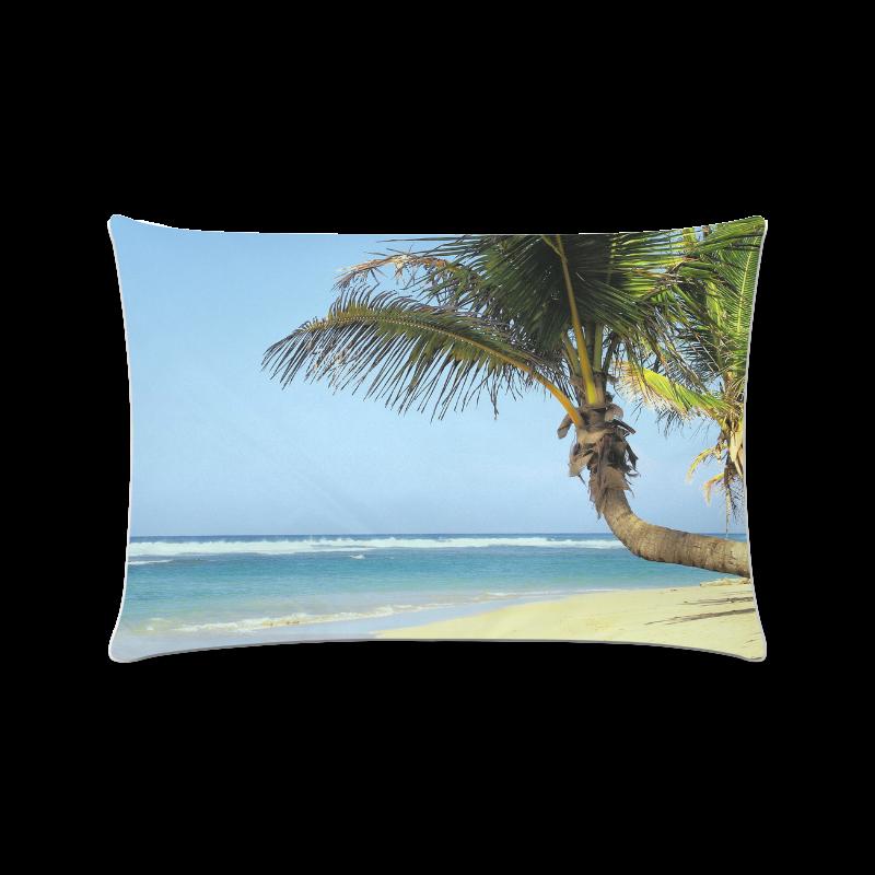 """Beach20160101 Custom Zippered Pillow Case 16""""x24""""(Twin Sides)"""
