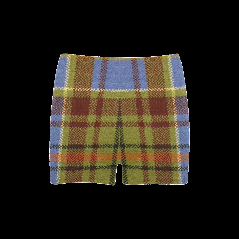 ADAM TARTAN Briseis Skinny Shorts (Model L04)