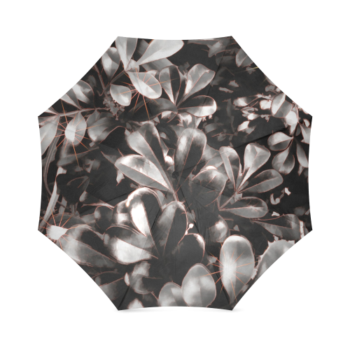 Foliage #1 Red Edge - Jera Nour Foldable Umbrella (Model U01)
