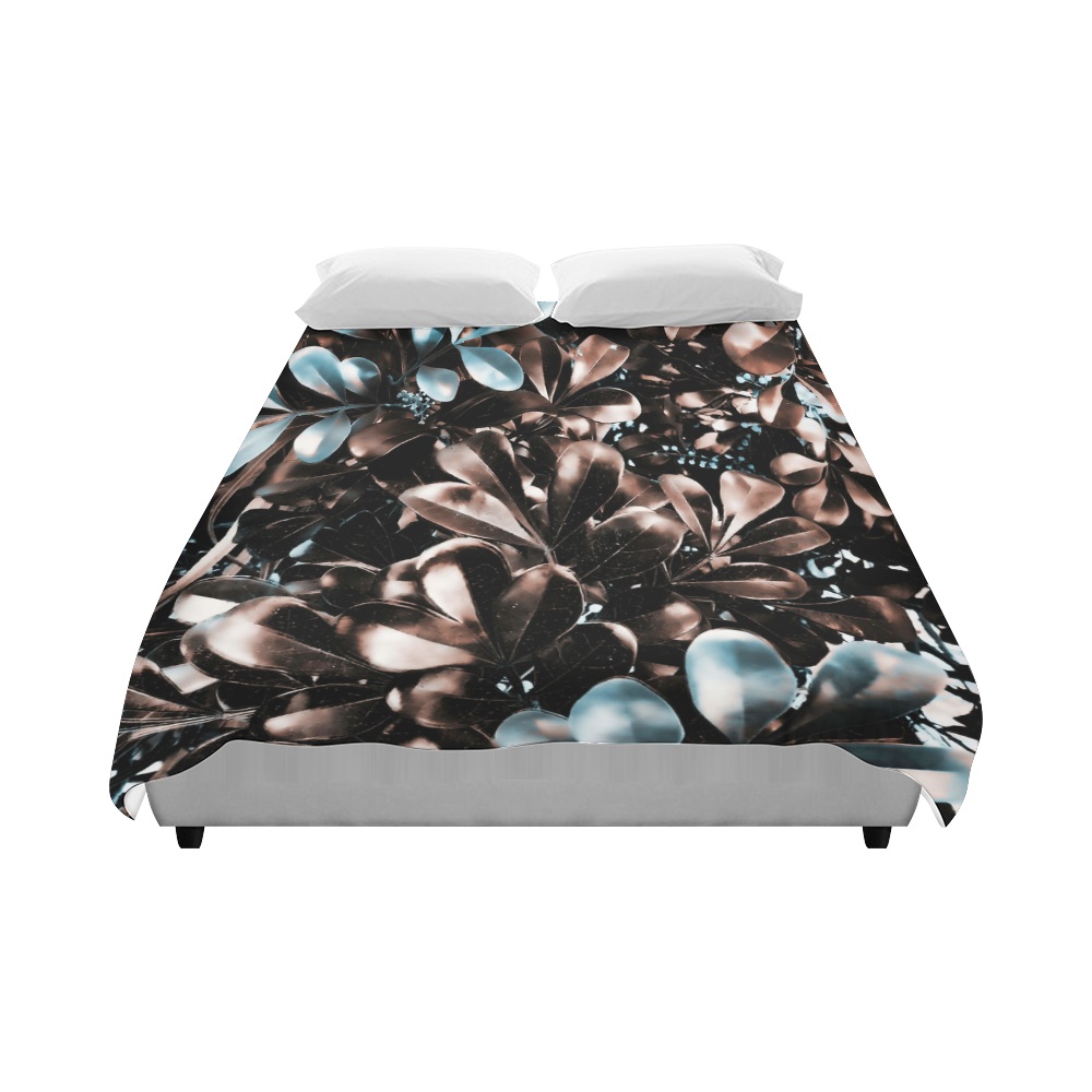 """Foliage-5 Duvet Cover 86""""x70"""" ( All-over-print)"""
