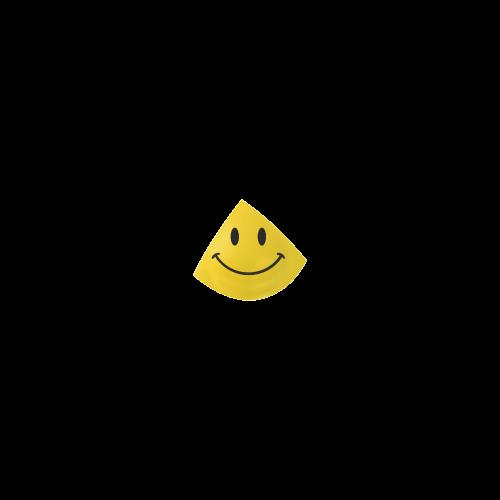 Happy Yellow Smiley Custom Bikini Swimsuit