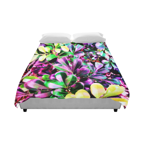 """Foliage-3 Duvet Cover 86""""x70"""" ( All-over-print)"""