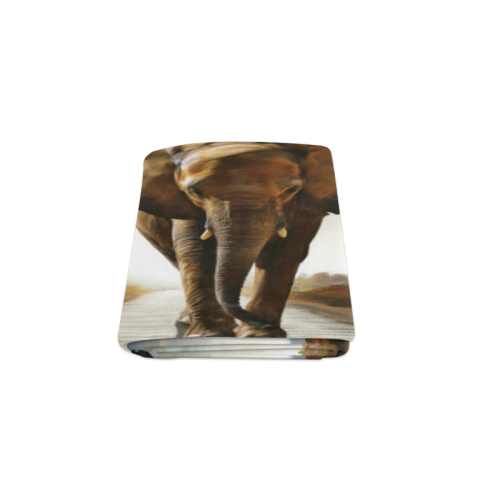"The Elephant Blanket 50""x60"""