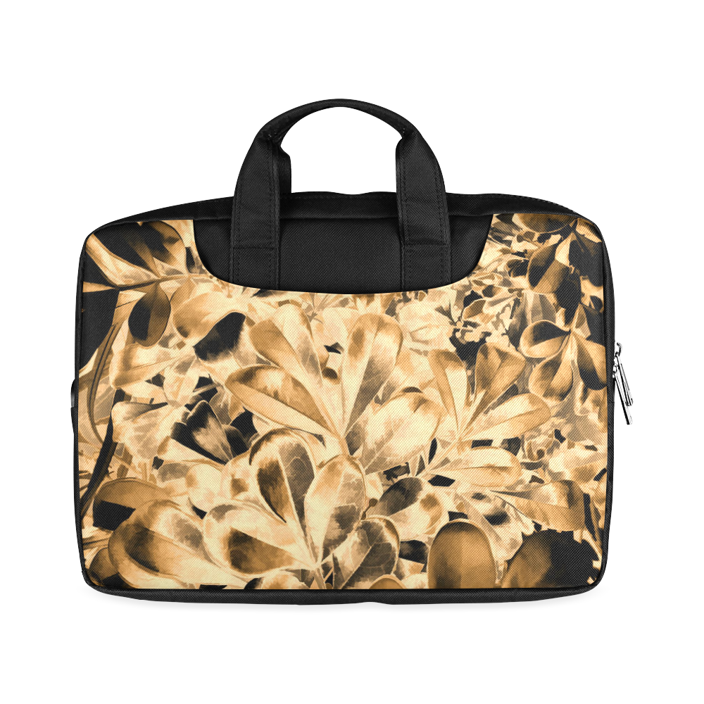 "Foliage #2 Gold - Jera Nour Macbook Air 13""(Twin sides)"