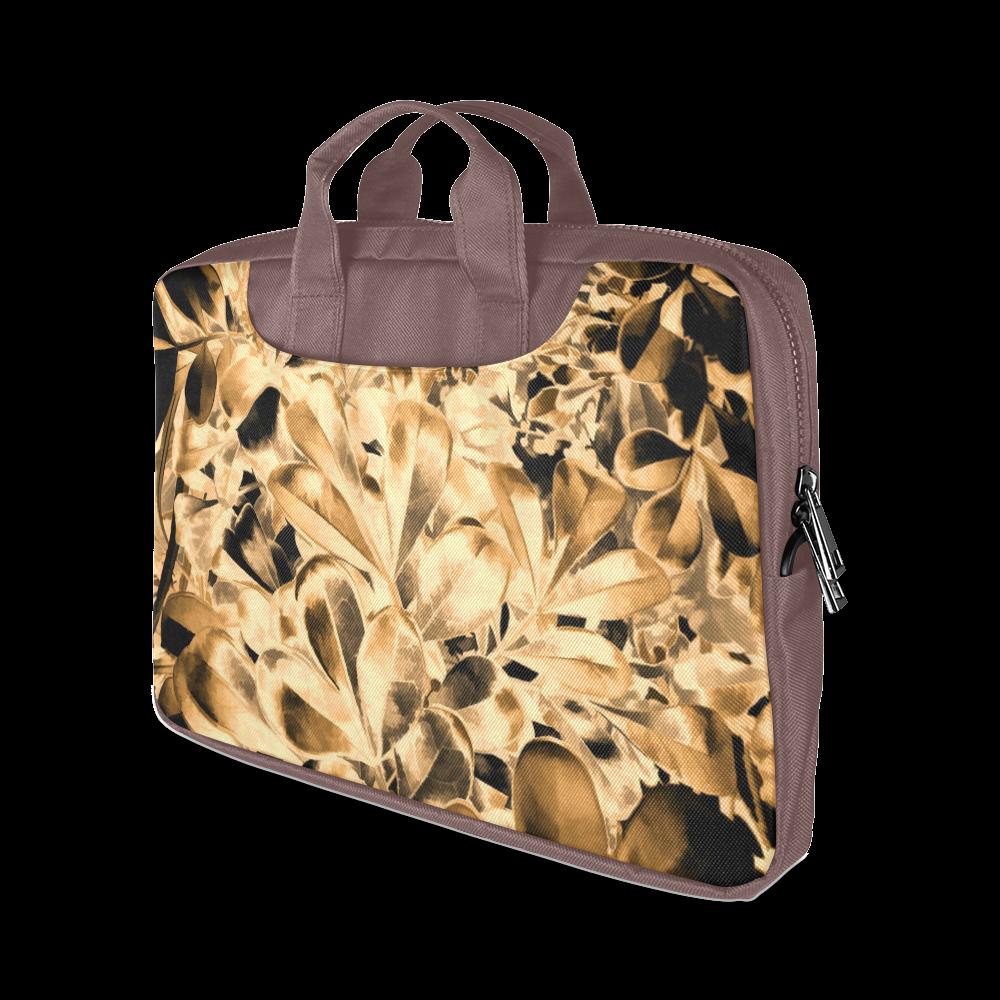 "Foliage #2 Gold - Jera Nour Macbook Air 13""(Twin sides)"