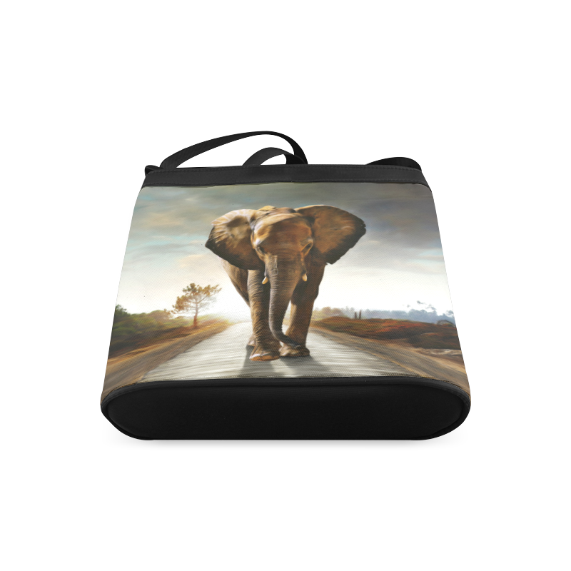The Elephant Crossbody Bags (Model 1613)